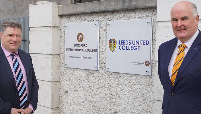 Leeds United College launches partnership with Longford International College