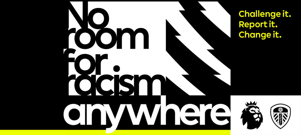 Premier League calls on fans to show there is No Room For Racism anywhere