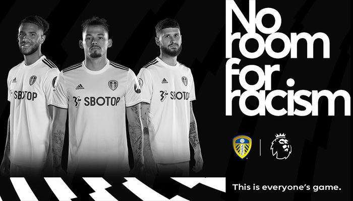 Fixture dedicated to No Room For Racism Campaign