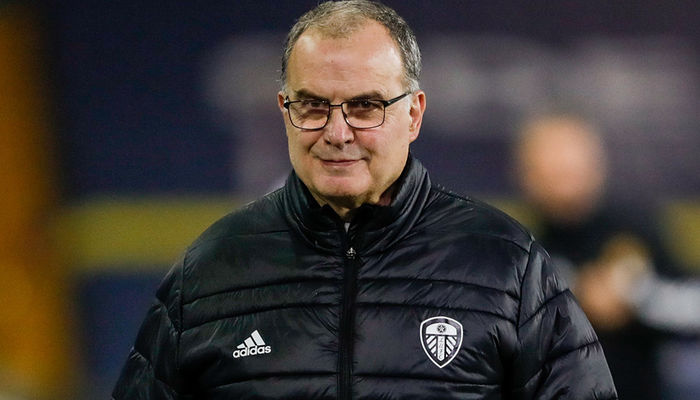 Marcelo Bielsa: Five points ahead of Leicester City