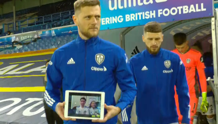Leeds United welcome very first virtual mascot