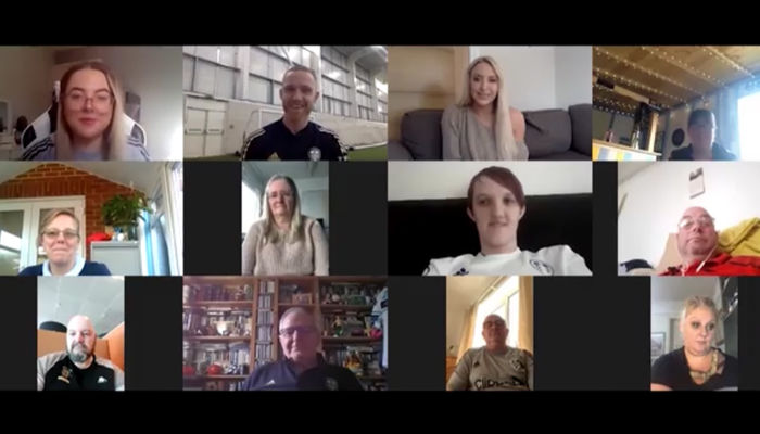 Adam Forshaw joins the Foundation for special video call