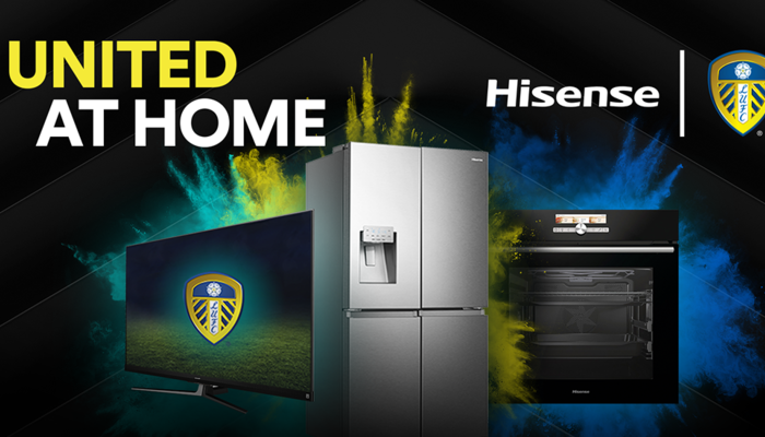 Hisense Becomes Official Partner of Leeds United