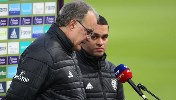 Watch: Marcelo Bielsa on Arsenal draw