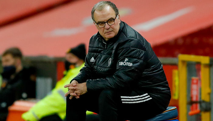 Watch: Marcelo Bielsa on Manchester United loss