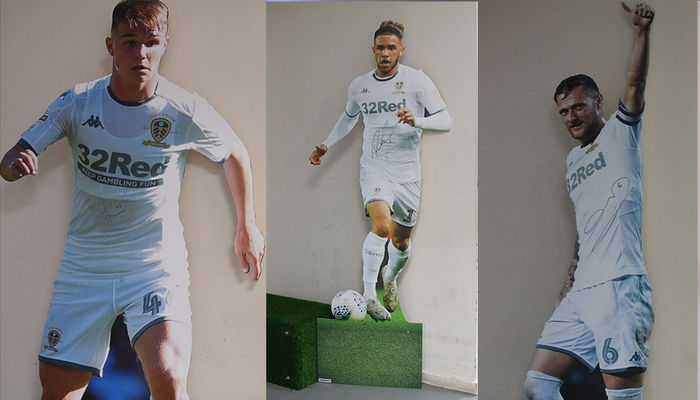 Your chance to bid on a signed cut out from the official Leeds United Champions Trail