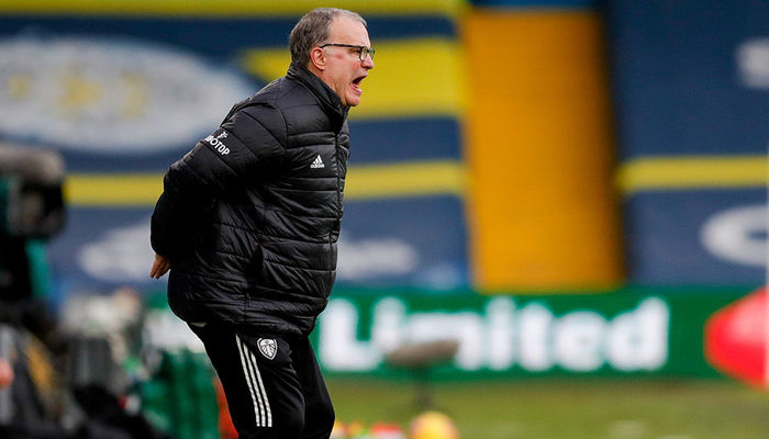 Marcelo Bielsa: Five points ahead of Crawley Town