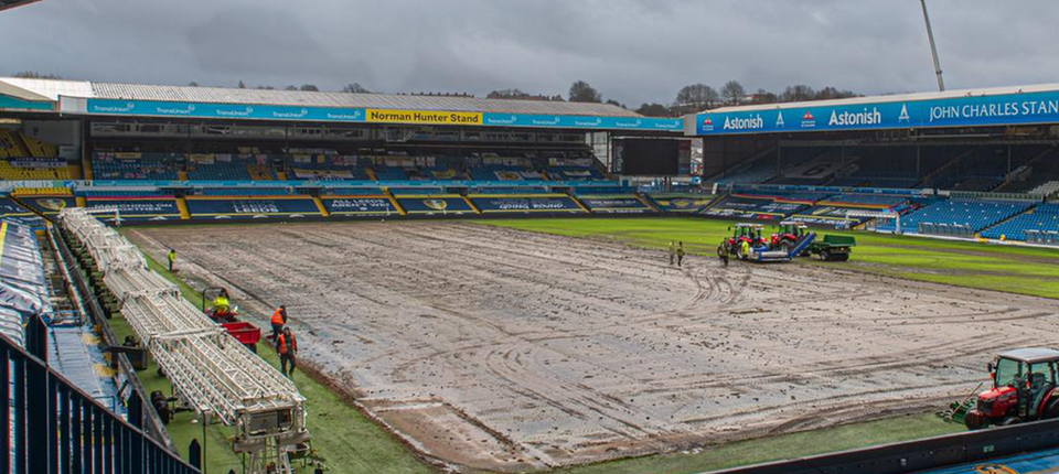 Leeds United Re-turfing Elland Road With Hybrid Pitch