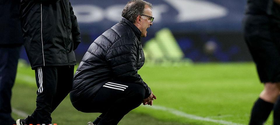 Marcelo Bielsa: Five points ahead of Villa clash