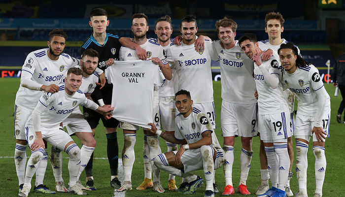 Leeds United dedicate win to Granny Val