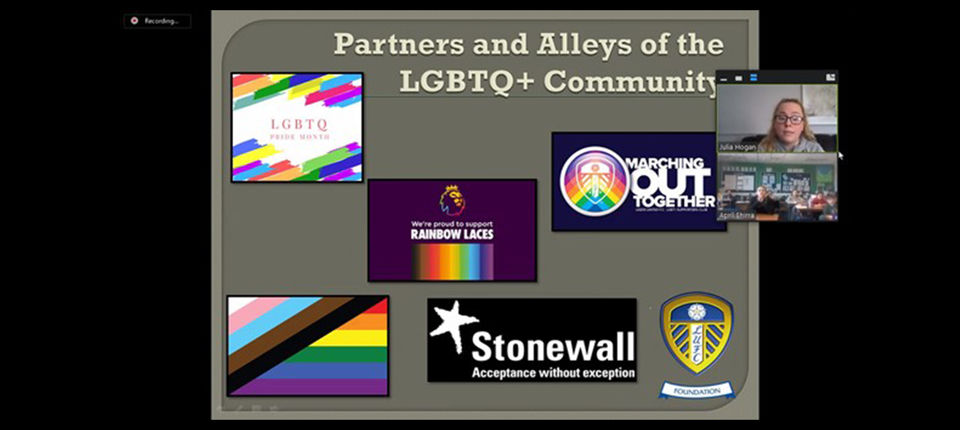 Educational workshops delivered to mark LGBTQ+ History Month