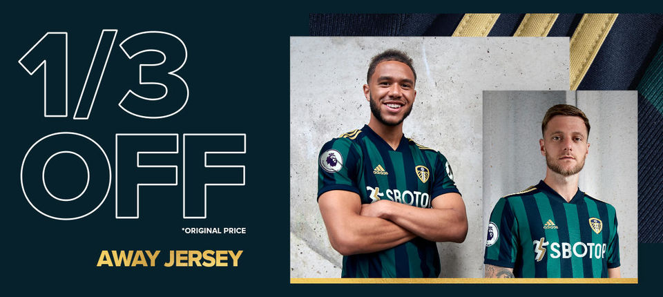 Fantastic offers on the 2020/21 Away Kit