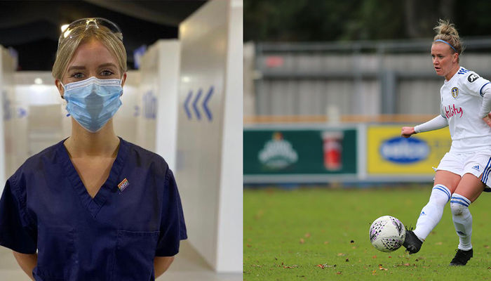 NHS catch up with defender Olivia Smart