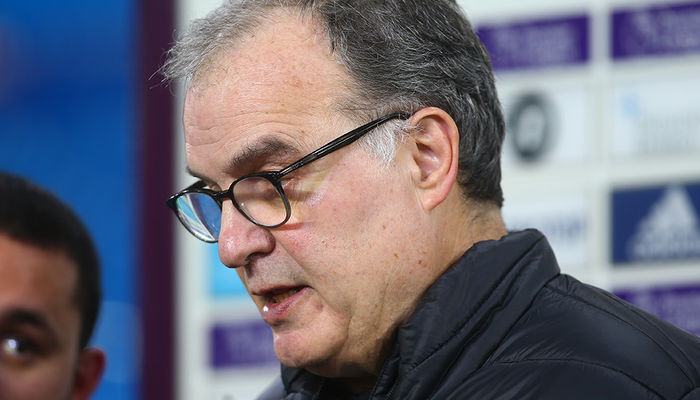 Watch: Marcelo Bielsa on Aston Villa defeat