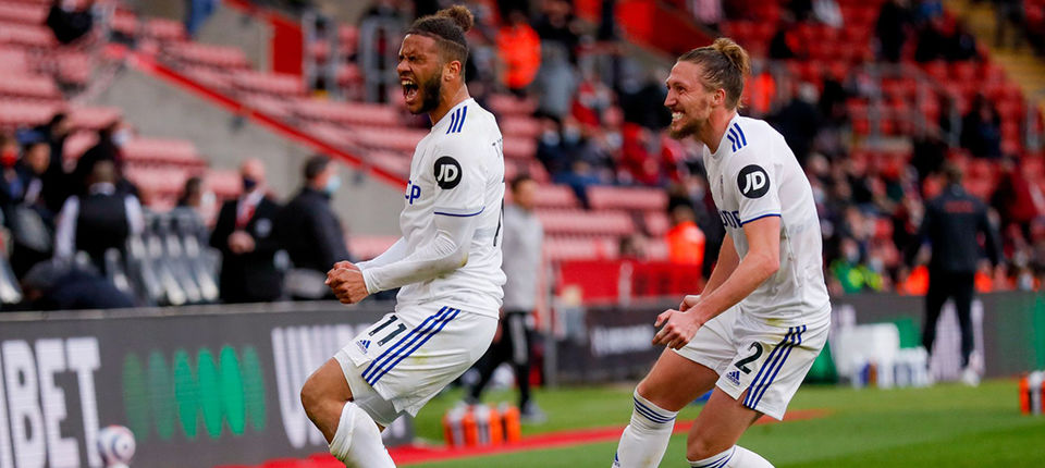 Report: Southampton 0-2 Leeds United