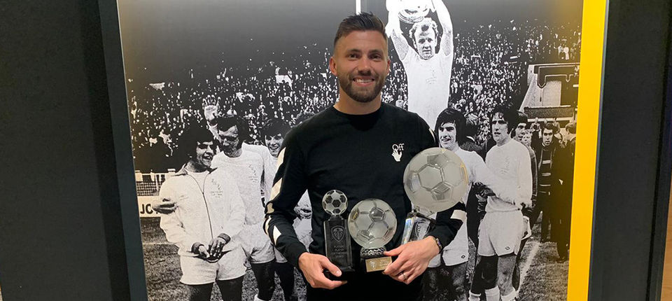 Leeds United Player of the Year 2021 winners