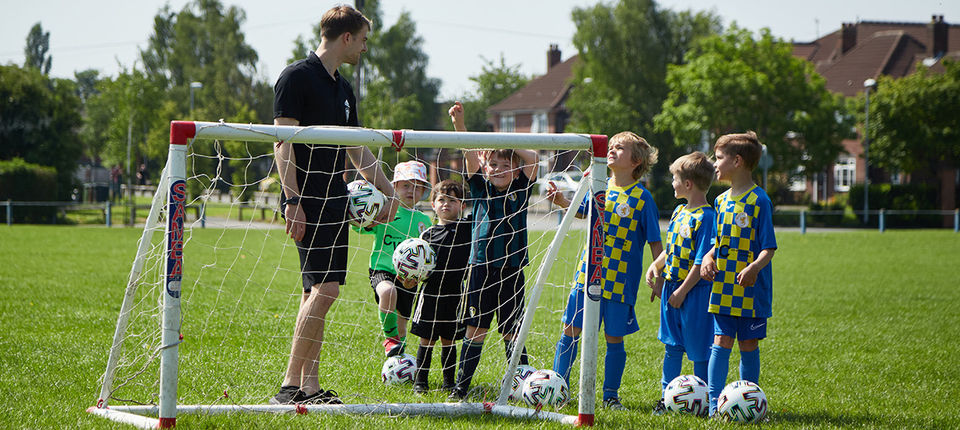 Over 300 youngsters take part in Soccer Camps initiative