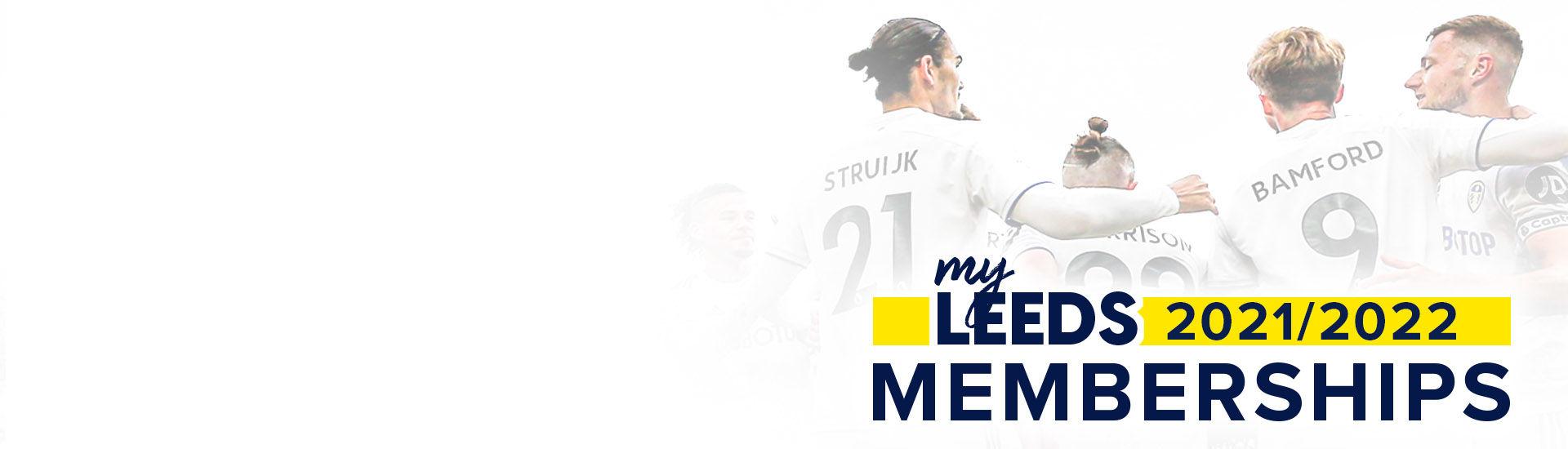 Leeds United 2021/22 Memberships now on sale