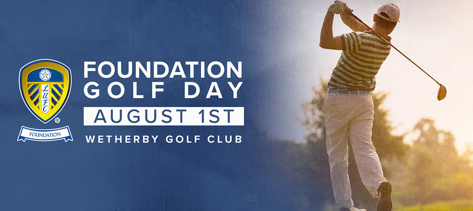 Leeds United Foundation announce date for annual Golf Day