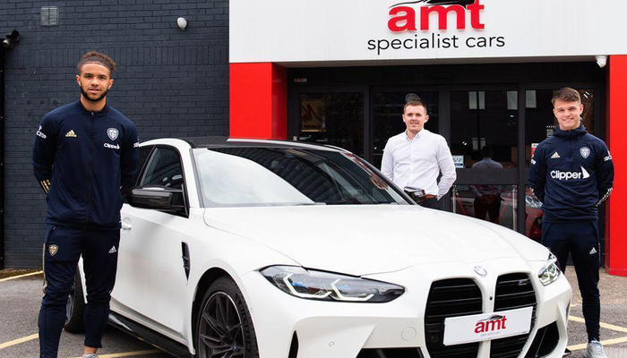 Leeds United drive forward with AMT as new Official Vehicle Solutions Partner