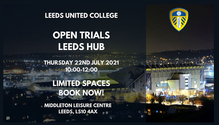Leeds United College to host open trial session
