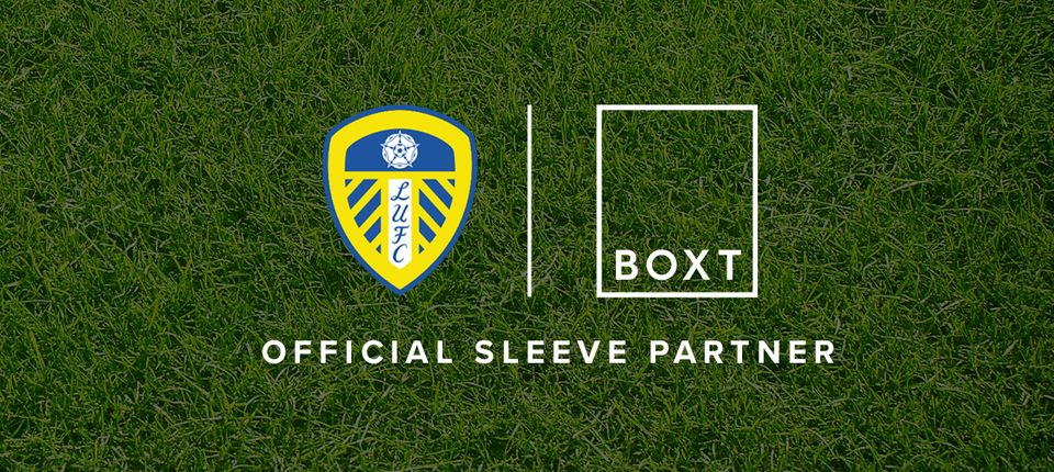 BOXT become Official Sleeve Partner of Leeds United