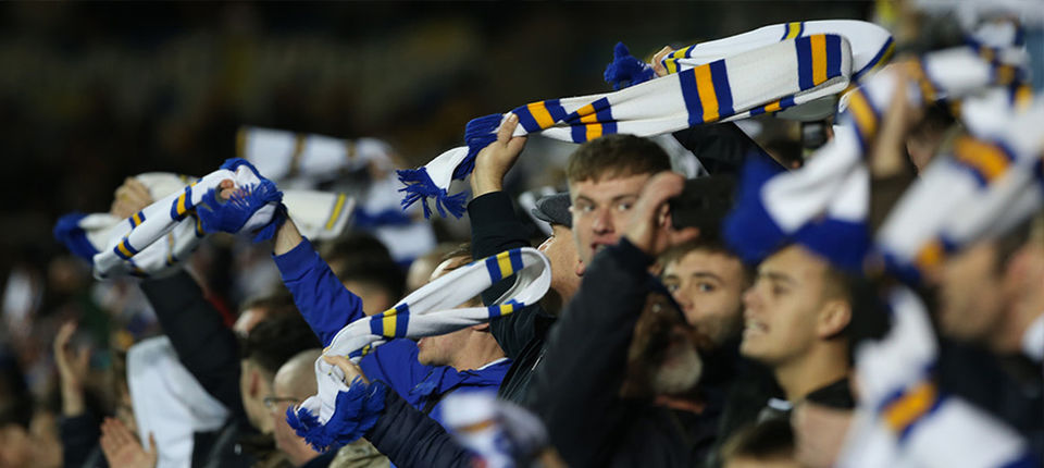 Return of supporters to Elland Road