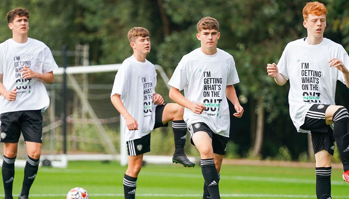 Under-18s show support for World Suicide Prevention Day