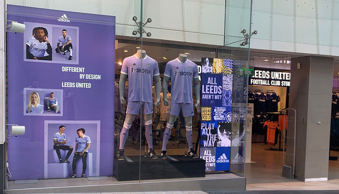 Leeds United to unveil new store at Trinity Leeds