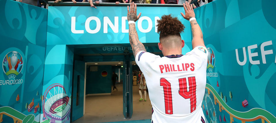 Kalvin Phillips voted 2020/21 BT England Men\'s Player of the Year