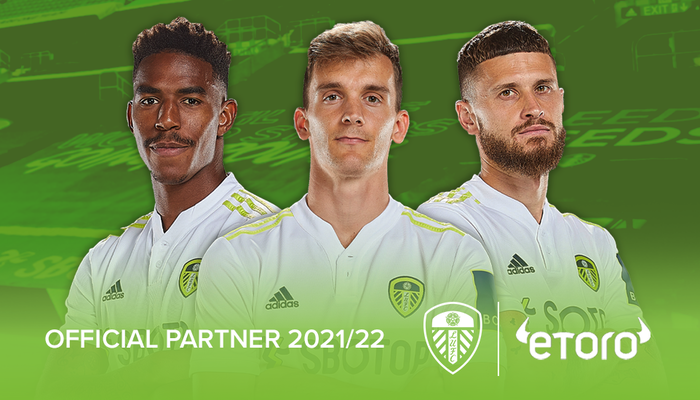 eToro becomes an Official Partner of Leeds United