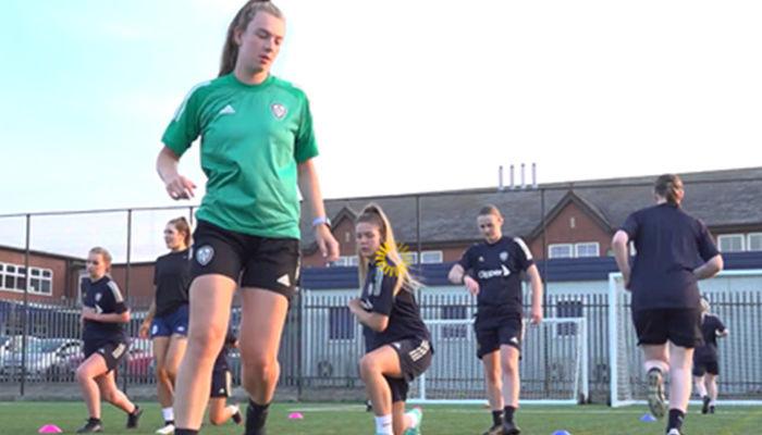 Watch: Leeds United Foundation X Leeds City College