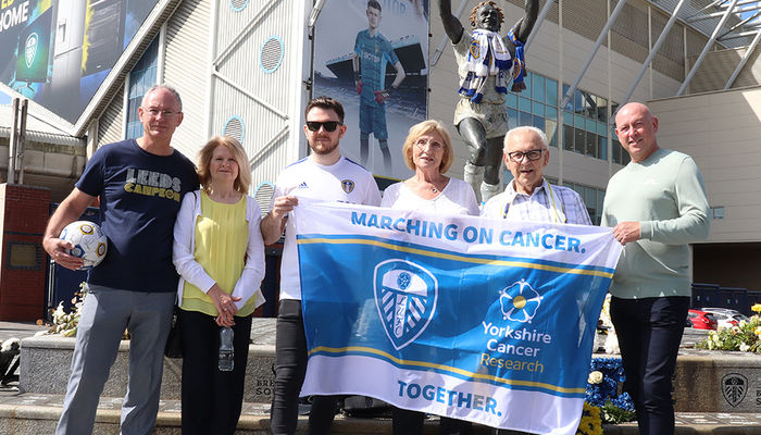 Watch: Yorkshire Cancer Research praised by Leeds United family
