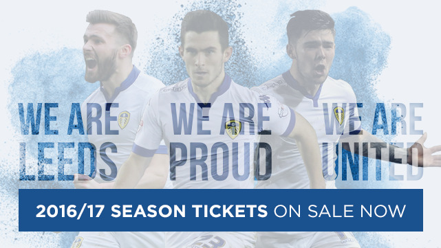 2016-17 SEASON TICKETS NOW AVAILABLE!