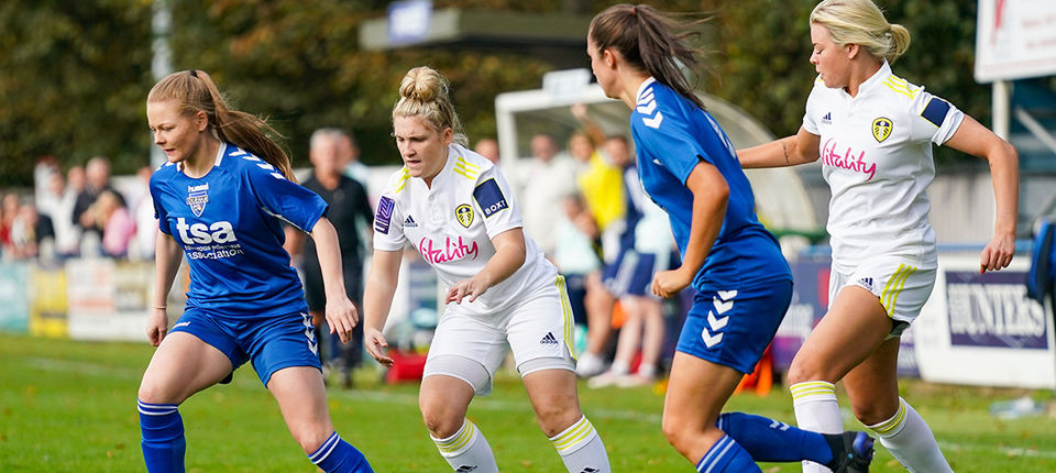 Report: Leeds United Women 5-5 Durham Cestria LFC