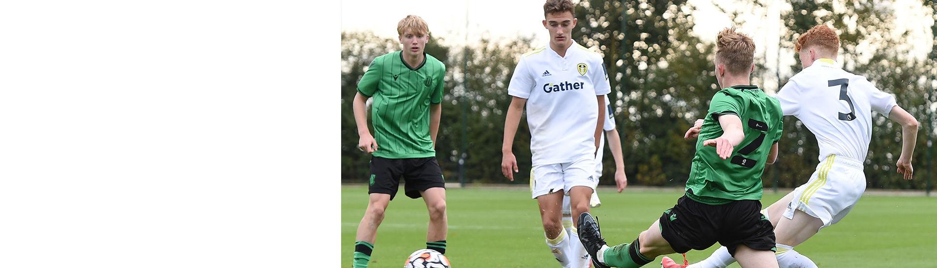 U18s Report: Leeds United 0-2 Stoke City