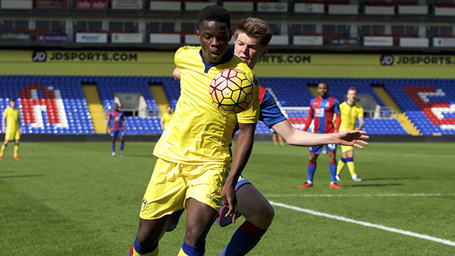 U21S: YOUNGSTERS IN ELLAND ROAD ACTION