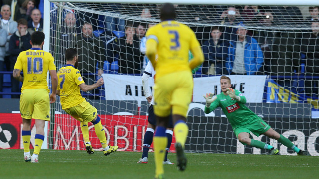 REPORT: SPOILS SHARED AT BOLTON
