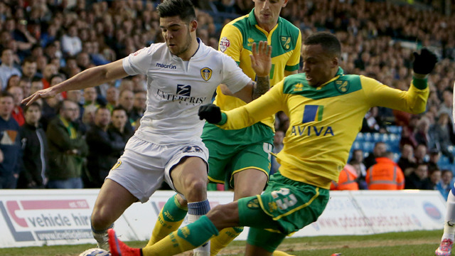 NORWICH SEE OFF UNITED
