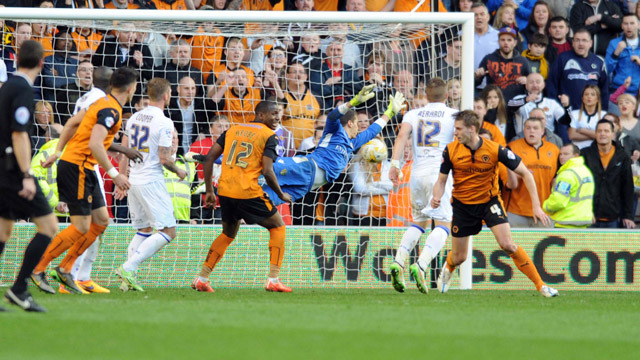 WOLVES HALT SPIRITED LEEDS COMEBACK