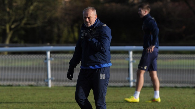 REDFEARN EXPECTING TIGHT GAME