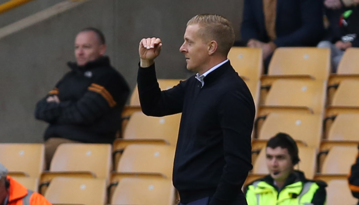 GARRY MONK: YOU CAN SEE THE DETERMINATION