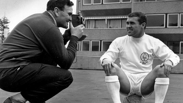 stylo matchmakers bobby collins don revie photo shoot photoshoot leeds united