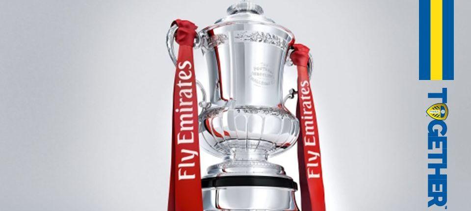 EMIRATES FA CUP: LEEDS HANDED AWAY TIE