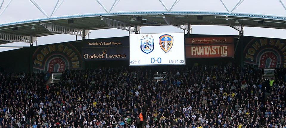 HUDDERSFIELD TOWN: FIXTURE SELECTED FOR TV COVERAGE