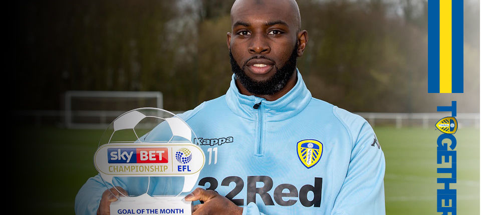 DOUKARA WINS GOAL OF THE MONTH