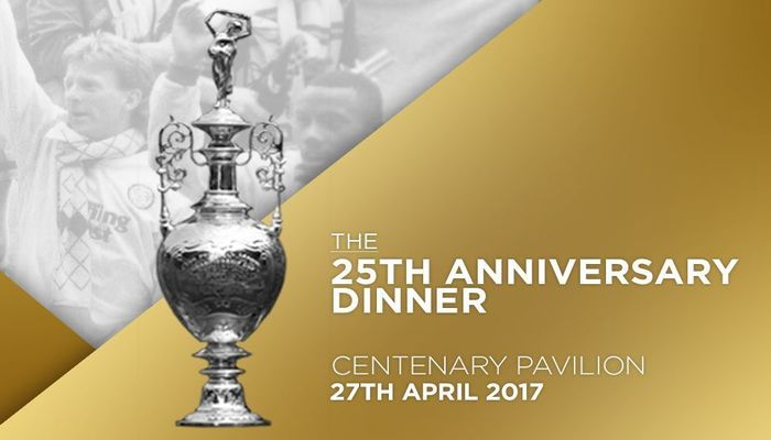 25TH ANNIVERSARY DINNER: TICKETS AVAILABLE