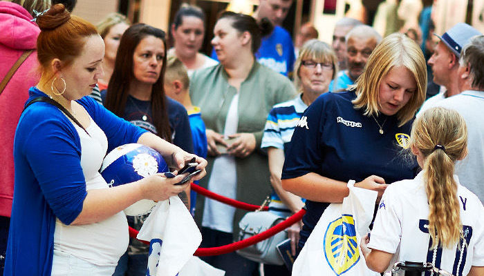 MERRION CENTRE: MEET THE PLAYERS THIS THURSDAY