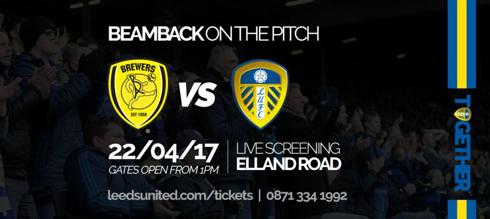 BURTON: BEAMBACK ON THE PITCH ANNOUNCED!