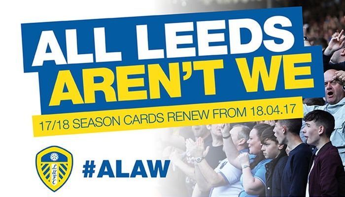 GET YOUR 2017/18 SEASON TICKET BEFORE TOMORROW\'S GAME!